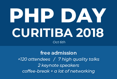 PHP Day Curitiba 2018